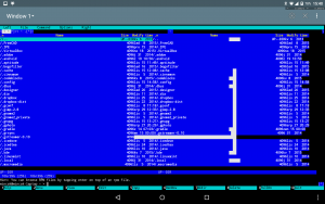 Using Midnight Commander on remote ssh session in Terminal Emulator