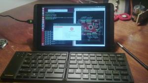 Shield as a portable computer